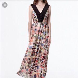 Dear creatures maxi paint chip dress size large